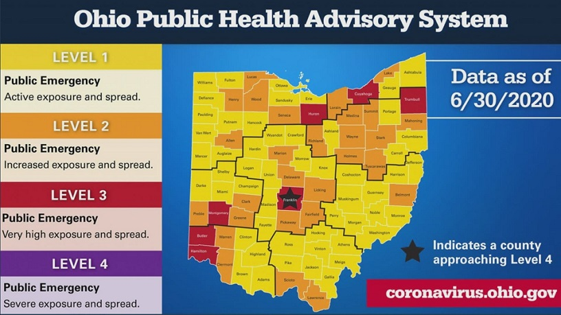 Ohio Will Implement New Coronavirus Restrictions By County ...